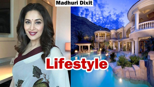 Madhuri dixit lifestyle,house,pet,income,salary,net worth,family, sons 2017 latest
