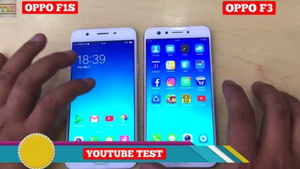 OPPO F3 VS OPPO F1S - Speed Test & Look-cqMto9SDyBE - video
