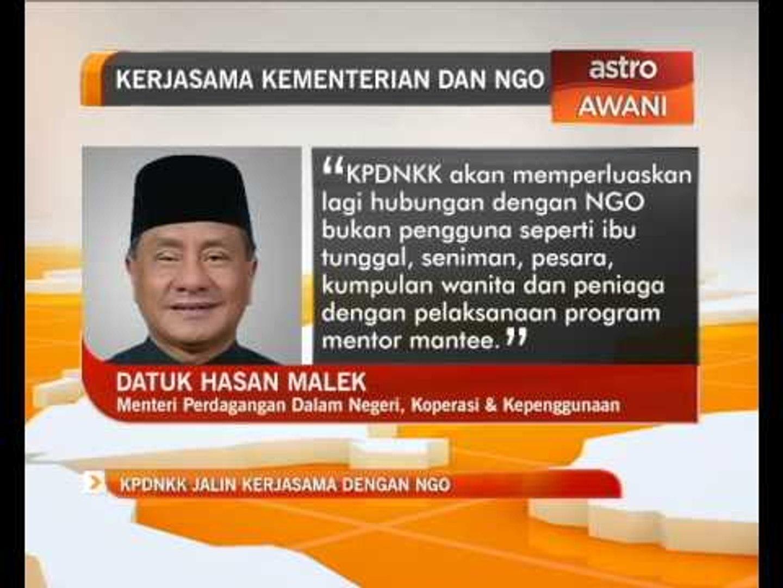 KPDNKK jalin kerjasama dengan NGO