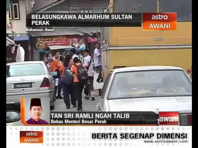 Pengalaman Bekas MB Perak Bersama Sultan Perak
