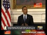 Barack Obama lulus serangan udara di Iraq