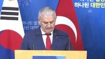 """Başbakan Yıldırım: """"Uluslararası Kuruluşlarda, Türkiye ve Güney Kore Birlikte Hareket Ediyor"""""""