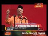 Ahli UMNO tidak perlu lagi apologetik