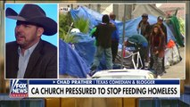 Church being pressured to stop feeding the homeless