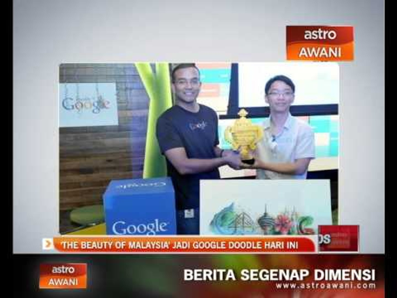 'Beauty of Malaysia' jadi Google Doodle hari ini