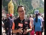 Perayaan Thaipusam meriah di Batu Caves