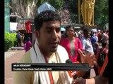 Ribuan penganut Hindu berkumpul di Batu Caves