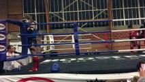 Victoria Marchetti (Muay Thai Vendinois) VS Aicha Moum (Panthers Club de Lille) Finale championnat regional muay thai ffkmda 2017