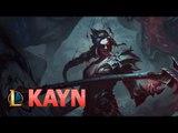 Liên Minh Huyền Thoại công bố tướng mới Kayn