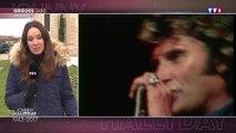 Edition spéciale , TF1  : à Grièges, la messe de la guérison de Johnny Hallyday  s'est transformée  en messe hommage