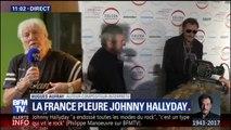 """""""Pour moi, il n'est pas mort"""", les mots d'Hugues Aufray après la disparition de Johnny Hallyday"""