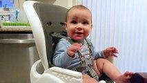 Ce bébé déteste le mot Maman... Il en a même peur!