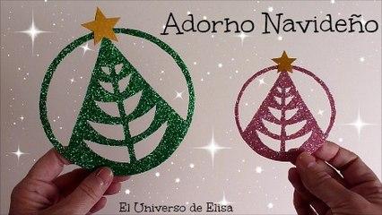 Adorno Navideño para el Árbol de Navidad, Decoración Navideña