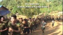 Rebels fight for freedom and independence in Myanmar