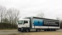 BMW Electric Truck inbound logistics 2017
