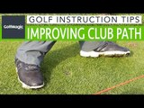 Golf Instruction Tips #3: How shifting weight can improve club path