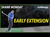 How to stop early extension golf tips   GolfMagic.com