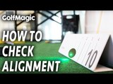Easy Golf Putting Tips And Drills | How to line up to the ball correctly | GolfMagic
