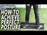 How to achieve PERFECT golf posture | Best Golf Beginner Tips #3 | GolfMagic