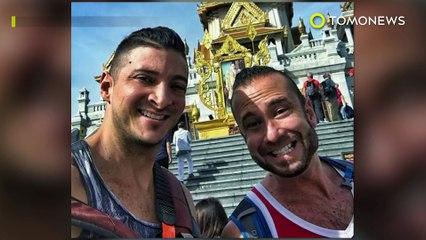 Turistas arrestados en Tailandia: Pareja arrestada por tomarse fotos atrevidas en templo budista - TomoNews