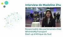 Assises de la mobilité : interview de Madeline Zhu, de la start up WhereIsMyTransport