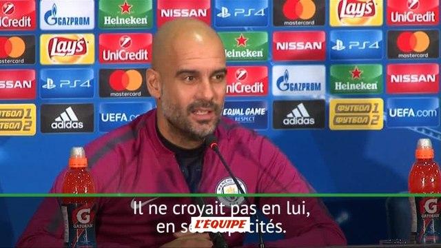 Foot - C1 - Man. City : Guardiola «Bernardo Silva a une qualité incroyable»