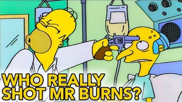 Who Really Shot Mr Burns? | Simpsons Theories