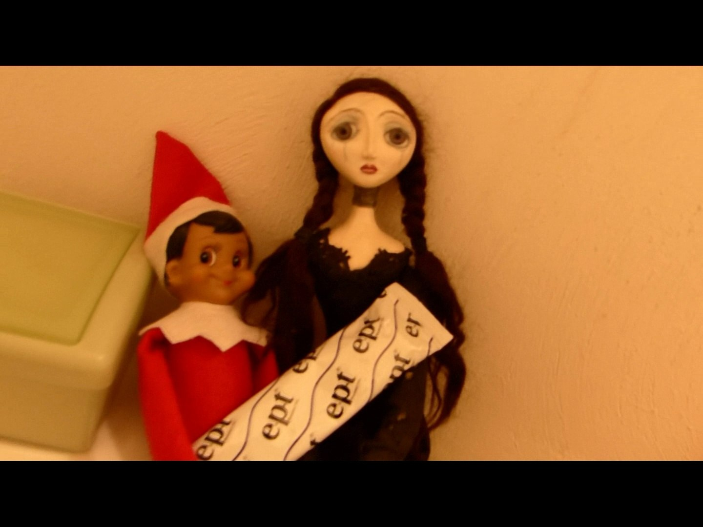 How Our Elf On The Shelf Went Bad Video Dailymotion