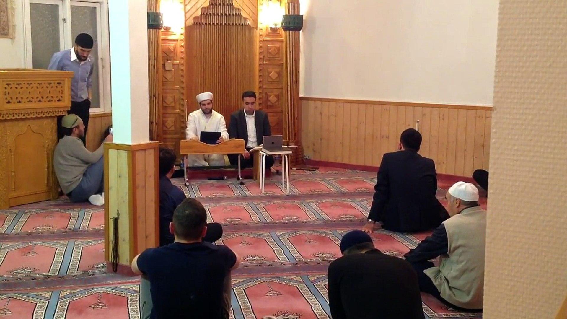 Hafız Metin Demirtaş. Kuran tilaveti. Ahzab suresi. Kopenhag Kocatepe Camii Danimarka. 29/11 - 2017.