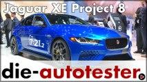 LA Auto Show 2017: Premiere für den Jaguar XE Project 8 & Range Rover PHEV in Los Angeles