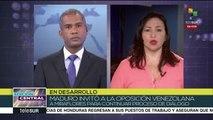 Venezuela: gob. exige que oposición solicite retirar sanciones