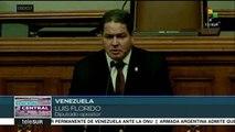 Gob. de Venezuela exige cese de las sanciones contra el país