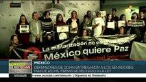México: colectivos ciudadanos rechazan la Ley de Seguridad Interior