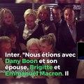 Brigitte Macron se recueille sur la dépouille de Johnny Hallyday, à Marnes la coquette