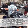 Mort de Johnny Hallyday: Les bikers rendent hommage au chanteur