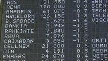 Sabadell, BBVA y Bankia lideran las pérdidas de un Ibex que cae un 0,27% al cierre