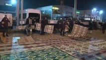 Adana'da Anadolu Gençlik Derneği ABD Konsolosluğu Önünde Trump'ı Protesto Etti