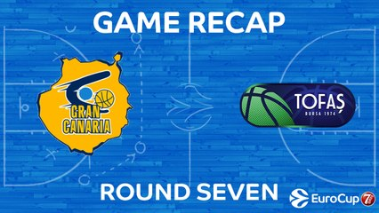 7DAYS EuroCup Highlights Regular Season, Round 7: Gran Canaria 92-71 Tofas