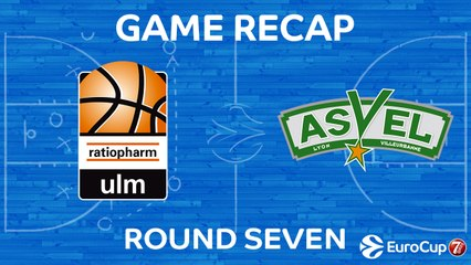 7DAYS EuroCup Highlights Regular Season, Round 7: Ulm 84-94 ASVEL