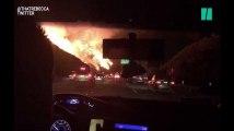 Les images impressionnantes du nouvel incendie qui ravage la Californie