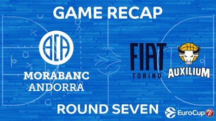 7DAYS EuroCup Highlights Regular Season, Round 7: Andorra 83-77 Fiat Turin