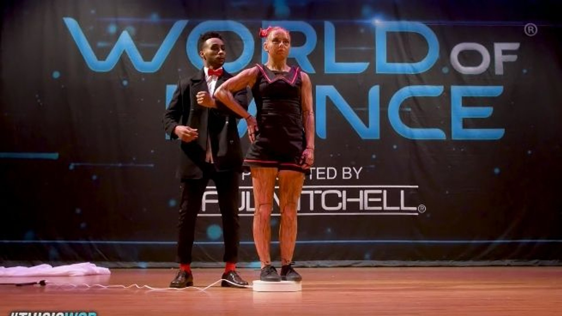 Le duo B-Dash & Jaja Vankova à World of Dance 2017