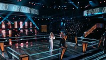 The Voice 2017 Battle - Andrea Thomas vs. Micah Tryba - 'What Hurts the Most'-zGosgLZZO7o