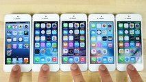 iOS 10 vs iOS 9 vs iOS 8 vs iOS 7 vs iOS 6 on iPhone 5 Speed Test!-gf_Bb6ygwKc