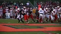 2015 Corry Beavers vs Hickory Hornets Football Plays of the Game