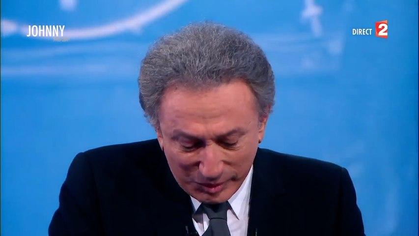 Michel Drucker fond en larmes