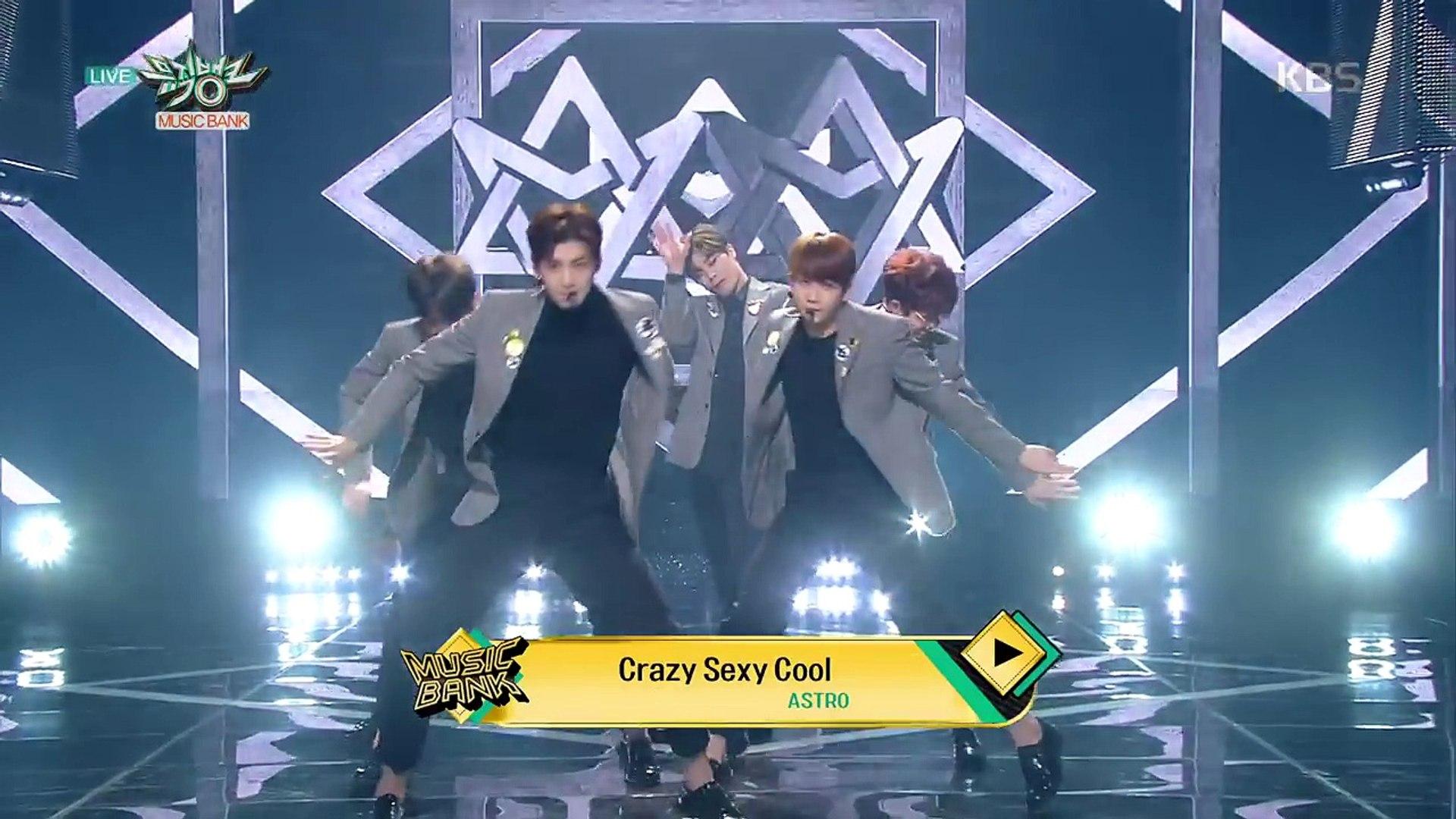 뮤직뱅크 Music Bank - 니가 불어와(Crazy Sexy Cool) - 아스트로 (Crazy Sexy Cool - ASTRO).20171201-Knc7l2VMn8M