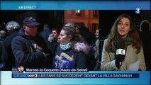 Mort de Johnny Hallyday : Eddy Mitchell, Line Renaud et Brigitte Macron aux côtés de Laeticia
