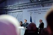 Discours du Président de la République, Emmanuel Macron, devant la communauté française à Alger