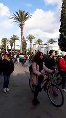 Les Tunisiens manifestent en soutien à la Palestine